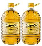 OLIAMBEL - Aceite de Oliva Virgen Extra - Variedades Empeltre y Arbequina procedentes de la Sierra del Moncayo - 2 Garrafas PET de 5L - Primera extracción en frío