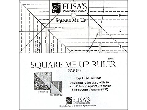 Elisa's Backporch Design Elisa's Backporch Square Me Up Ruler