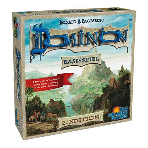 Rio Grande Games 22501413–Dominion Base–Segunda Edition, Familias Juego de Estrategia