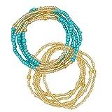 Chaîne de corps de Femmes Filles Waist Beads, Chaînes de t