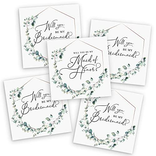 Tavenly Will You Be My Bridesmaid Box Set of 5 | Bridesmaid Proposal Box Set