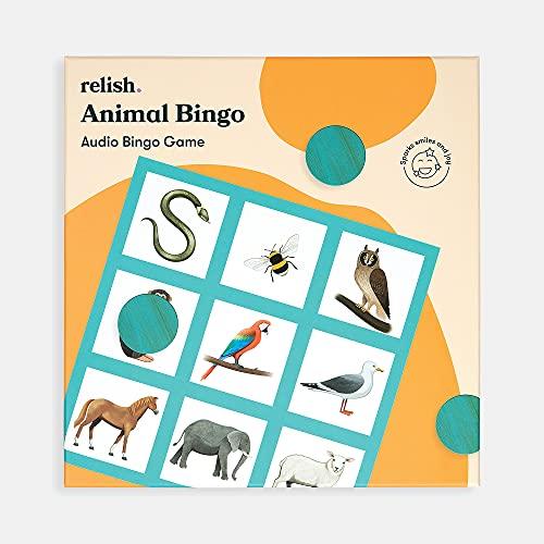 Relish Animal Bingo Game - Actividades de Alzheimer y demencia, juegos y...