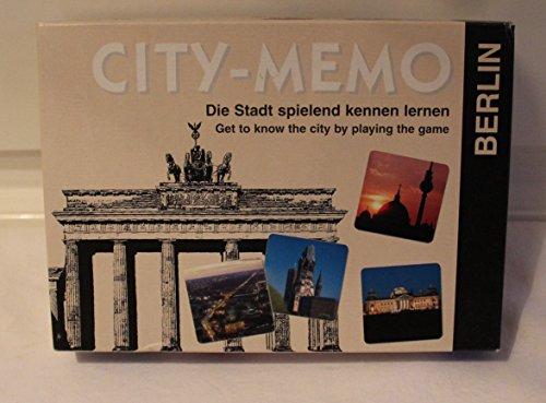 City-Memo. Das Berlin Spiel: Die Stadt spielerisch kennenlernen. 30 Sehenswürdigkeiten mit Beschreibung und Stadtplan. Für 2 - 6 Spieler ab 4 Jahren