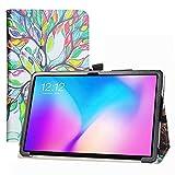 LFDZ Funda TECLAST T30,Soporte Cuero con Slim PU Funda Caso Case para 10.1' TECLAST T30 Tablet,Love Tree