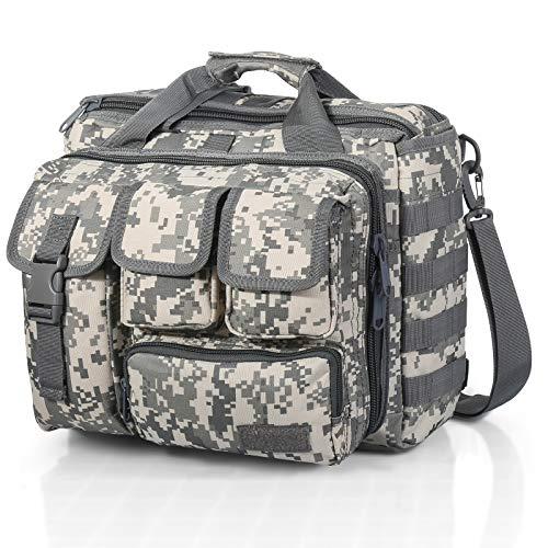 Sealantic Tactical Gun Range Bag,Pistol Shooting Duffle Bag,Padded Shooting Range Bag,Pistol Cases,for Firearm Accessories Storage Handguns and Ammo