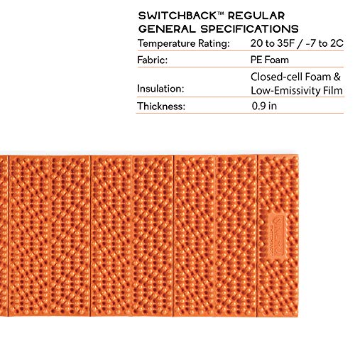 Nemo Switchback Foam Sleeping Pad, Regular