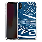 DeinDesign Coque en Silicone Compatible avec Apple iPhone XS Max Étui Silicone Coque Souple Paris...