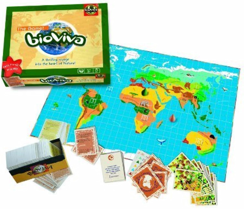 BIOVIVA Board Game  The Funny & Fascinating Eco-Trivia Game  by Bioviva