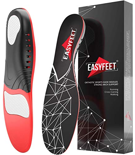 Plantar Fasciitis Arch Support Insoles for Men and Women Shoe Inserts  Orthotic Inserts  Flat Feet Foot  Running Athletic Gel Shoe Insoles  Orthotic Insoles for Arch Pain High Arch  Boot Insoles