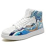 Anime Cosplay Moda Streetwear Zapatos casuales Zapatillas de deporte, para ONE PIECE Billow, Hombres Mujeres Zapatos
