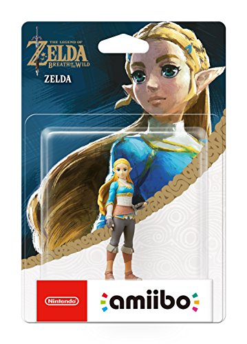 Figurine amiibo - Zelda [Collection The legend of Zelda : Breath of the Wild]