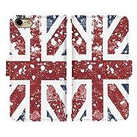 Xperia 1 SO-03L ベルトあり 手帳型 スマホケース スマホカバー di042(A) イギリス 国旗 ペンキ ヴィンテージ エクスペリア スマートフォン スマートホン 携帯 ケース エクスペリア1 エクスペリアワン 手帳 ダイアリー フリップ スマフォ カバー