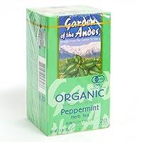 ガーデンオブアンデス ペパーミントティー ティーバッグ20袋×4箱セット 有機JAS認定オーガニックハーブティー