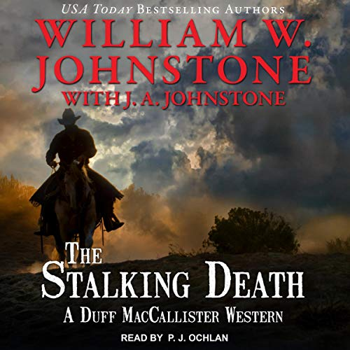 The Stalking Death audiobook cover art