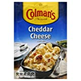 Pack of twelve, 1.4-ounce bags (total of 16.8 ounce) Cheddar cheese sauce mix Contains gluten, wheat, egg, lactose, mustard, milk