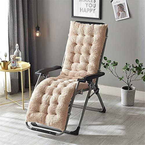 Liuxiaomiao Sitzkissen, Sitzkissen, Lounger, Gartenmöbel für Patio Liegestuhl, Relaxer des Rilievo für Auto, Büro und Rollstuhl. 160cm beige