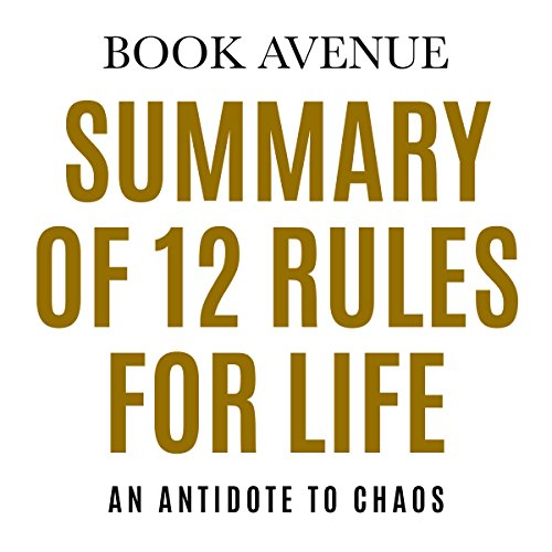 Summary of 12 Rules for Life audiobook cover art