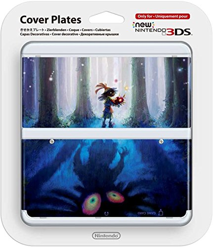 Nintendo New 3DS Cover Plate Zelda Majora´s Mask