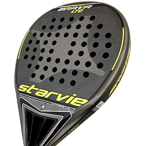 Pala StarVie Brava Carbon Soft Black LTD: Amazon.es: Deportes y ...