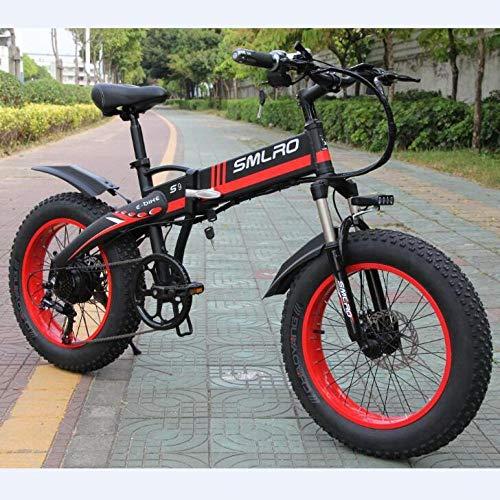 cuzona Bici elettrica 20 Pollici 750 W / 1000 W Motore 10AH Batteria Pieghevole Bicicletta elettrica-36V_10AH_1000W