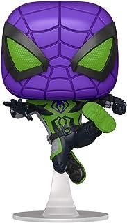 Funko Pop! Games: Marvel's Spider-Man: Miles Morales - Miles Purple Rain Suit