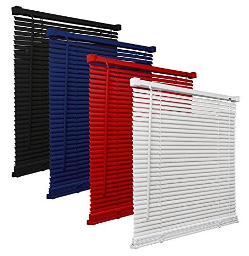 way2way Kunststoff Jalousie (PVC) | Weiss 120 x 160cm | - viele Farben & Größen