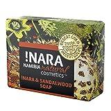 Nara Seife mit Sandelholz, handgemachte Naturkosmetik Öl-Seife zur täglichen Gesichtspflege und...