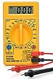 HILTEX 40508 Digital Multimeter | Diode And Transistor Tester | AC/DC Volt Test | Test Probes | Voltmeter | Multitester |Volt/OHM Meter (VOM)