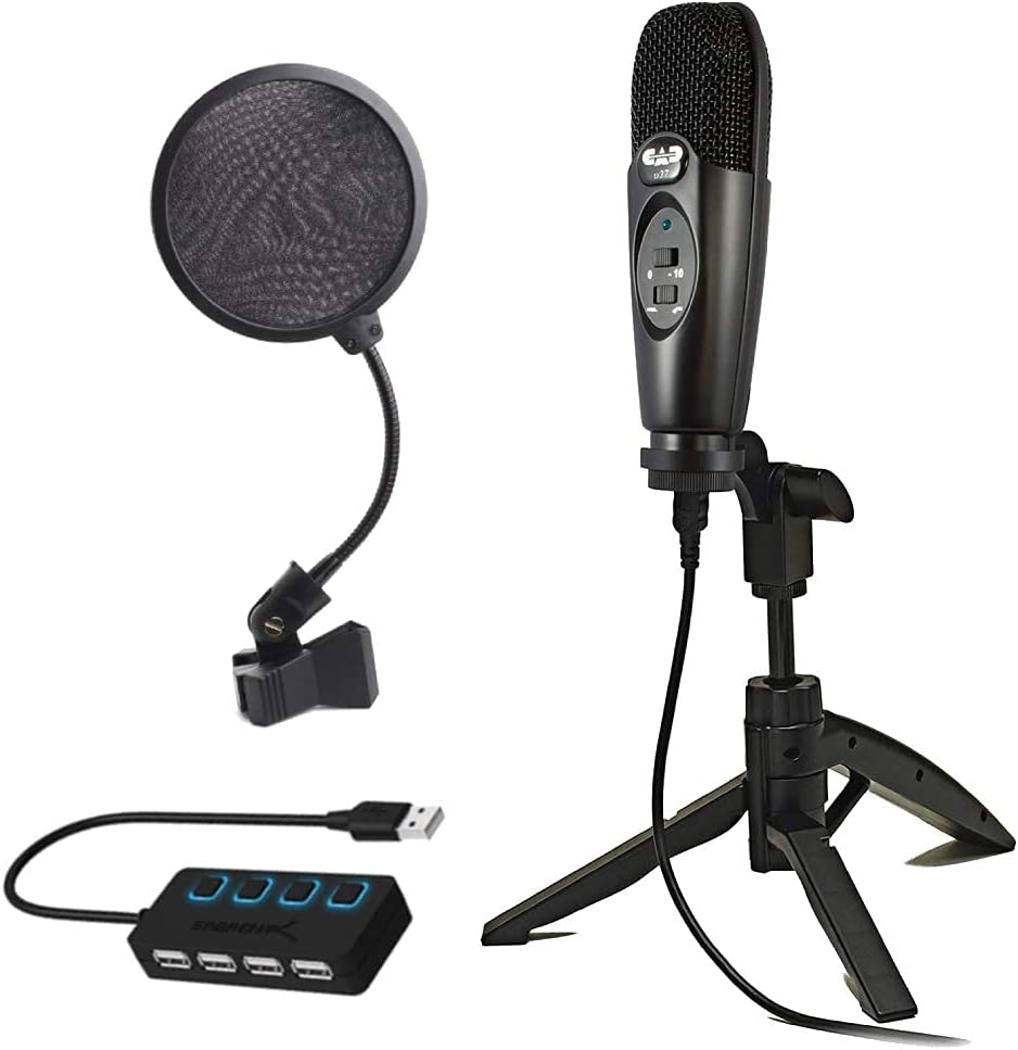 CAD U37 USB 2021 autumn and winter new Challenge the lowest price Studio Condenser Microphone with Filte Recording Pop