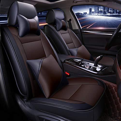 Coprisedile universale auto Accessori interni for autoveicoli Coprisedili for auto Set completo Tappetini in pelle impermeabile PU universali for Audi A3 / A4 / A5 / A6 / A8 / Q3 / Q5 / RS4 compatibil