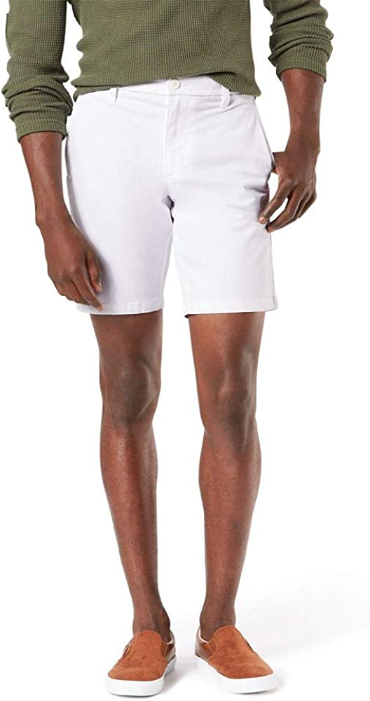 Industry No. 1 Dockers Some reservation Men's Straight Fit Supreme Flex Ultimate Short Chino