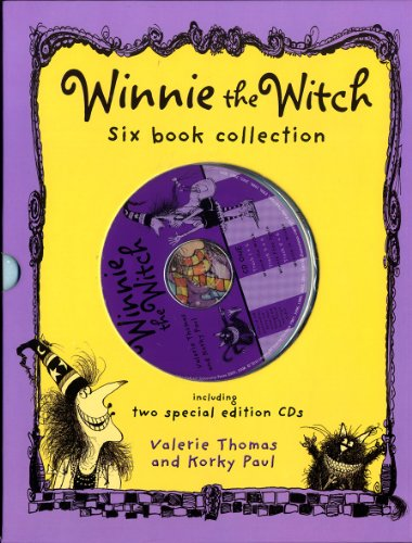 Winnie The Witch Teacher 6 Book & 2 CD Collectionの詳細を見る