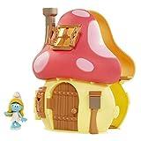 Smurfs The Lost Village Movie Mushroom House Playset with Smurfette Figure