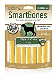 SmartBones Skin And Coat Care Sticks 16 Count, Rawhide-Free Chews For Dogs, With Omega Fatty Acids