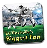 Dessous de verre La Rochelle, le plus grand fan de rugby – Cadeau d'anniversaire/chaussettes