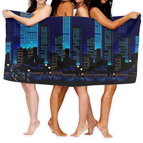 N/A STREETS Of RAGE Ikari No Tekken Action Fighting Quick Dry Handdoek Katoen Super Zachte handdoek Resistant badhanddoek 80cmx130cm