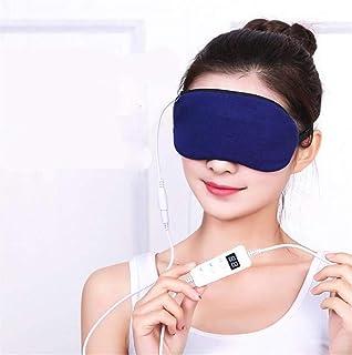 CNMGM Gafas De Calefacción De Calefacción USB, Masaje De Calefacción De Vapor Ocular, Eliminar Los Círculos Oscuros