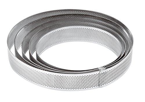 PADERNO Anello microforato Acciaio Inox h. 3,5 cm (d. 15 cm)