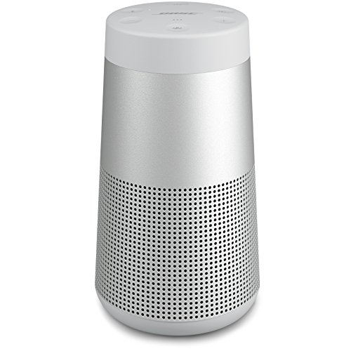 Bose SoundLink Revolve, Portable Bluetooth Speaker (with 360 Wireless Surround Sound), Lux Gray