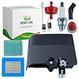 Replacement Tune-Up Kit with 692298 Air Cleaner Cover 795259 Air Cleaner Primer Base 790849 699056 Spring 491588S Air Filter 491435S Pre Filter 298090S Fuel Filter 694395 Primer Bulb and Spark Plug