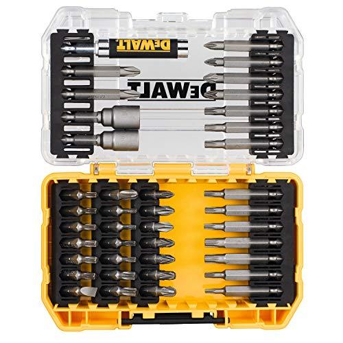 Generic DT70705-QZ DEWALT - Juego de 40 puntas destornilladoras en estuche rígido para atornillar