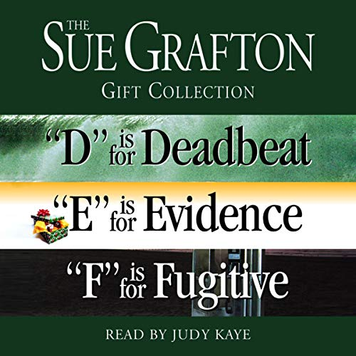 Sue Grafton DEF Gift Collection audiobook cover art