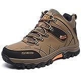 Showlovein Chaussures de Randonnee Homme Chaussures de Sports Trekking Impermeable Escalade Bottes de Montagne Chaussures Montantes