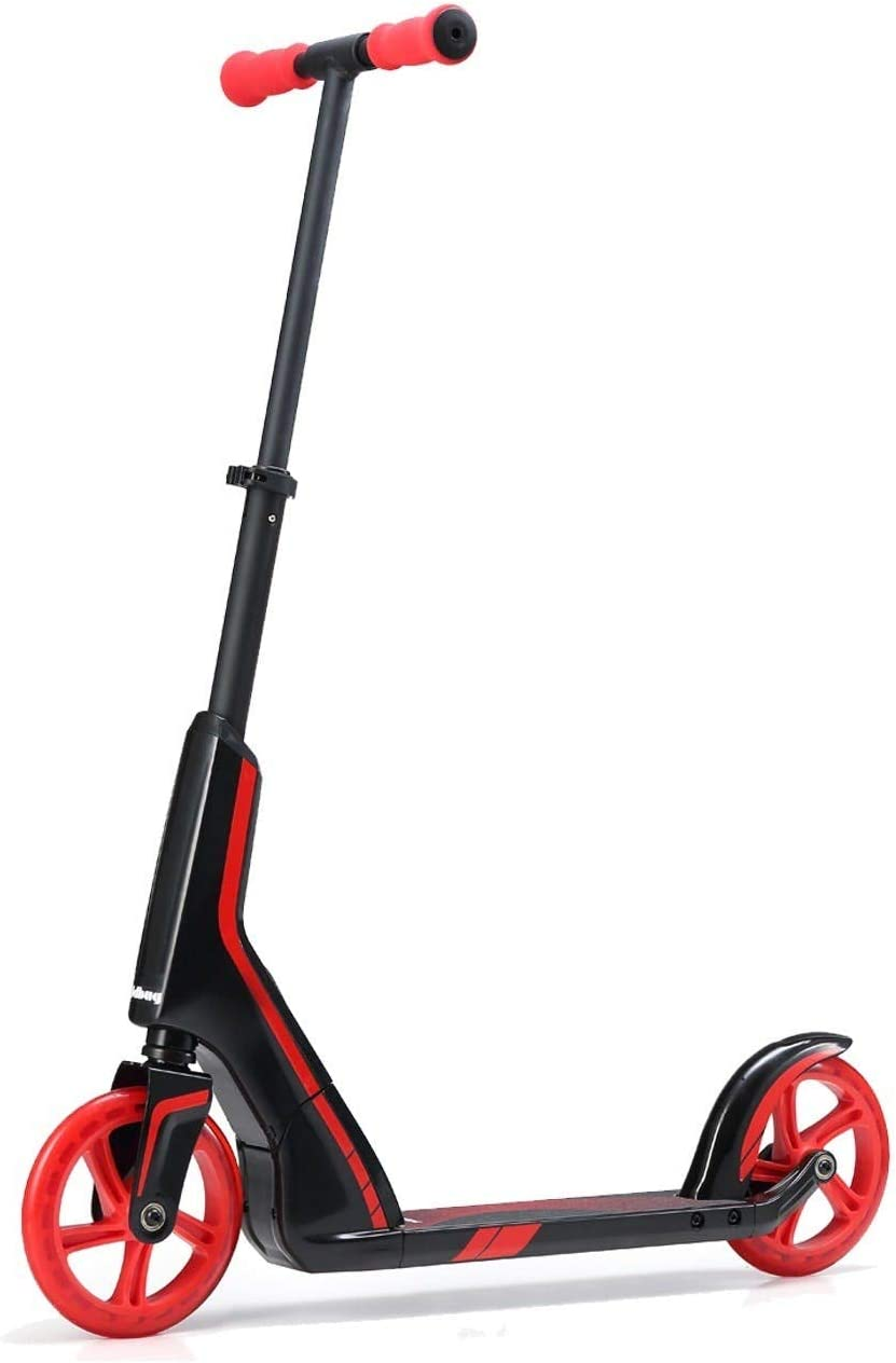 JD Bug Pro Commuter Scooter - Patinete, color negro y rojo ...