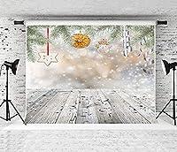 パーティーの装飾写真の背景クリスマス木の板冬の花壁赤ちゃんの肖像写真の背景ビニール写真の背景写真スタジオ