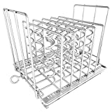 Sous Vide Rack,Stainless Steel Adjustable Collapsible Rack Frame,Easy Store and Clean...
