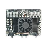 WONDOM Pack of 4 X 100W Class D Audio Amplifier W MW 450W Power Supply