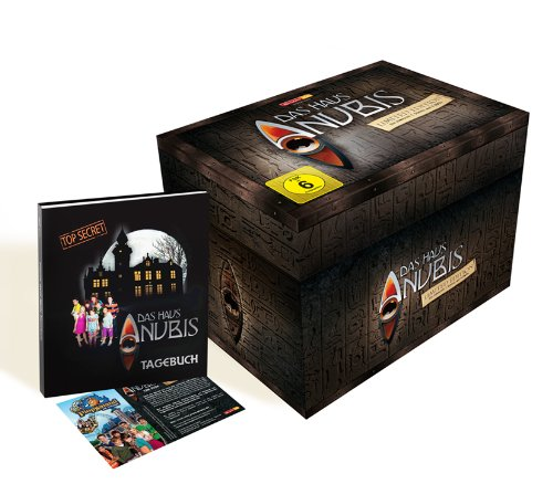 Das Haus ANUBIS - DVD Box Limited Edition (1. Staffel - Folgen 1-114)