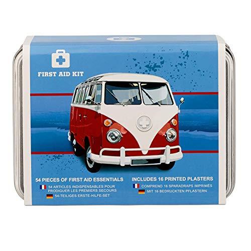 50 Piezas Viaje botiquín de Primeros Auxilios con Capas Impermeables en una Mano de estaño. Landrover Defensor Regalos para Los Hombres… (Blue)