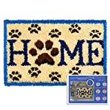 Latch Hook Kits Rug for Home Decoration Latch Rug Hook for Adults 23.6'x15.7' (Normal Canvas)